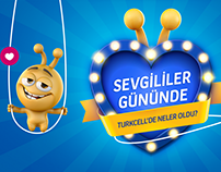 Sevgililer gününde Turkcell'de Neler Oldu?