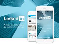 Linkedin Redesign