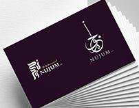 Nujum Company Logo and Branding