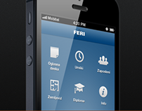 FERI iPhone App Design