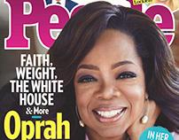 Oprah Winfrey for People Magazine