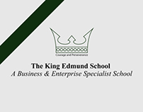 The King Edmund School - Leaflet/Map Re-Design
