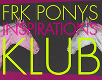 Miscellaneous: Frk. Ponys Inspirationsklub. 2012.