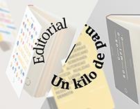 """""""Un kilio de pan"""" / Sistema de identidad editorial"""
