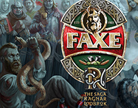 """The Saga of Ragnar Lothbrok "" for FAXE №4"