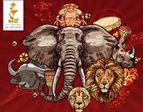 Al Ain Zoo ( African Theme)