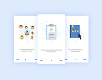 Onboarding For Students - Education App