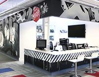Diseño de Mural / Oficina de Importante Compañía tech