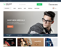 Collect Ecommerce Website