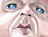 Toby Jones Caricature