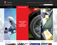 Bahrain Ministry of Transportation website concepts