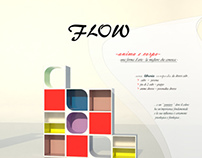 FLOW Modular Bookshelf and Room Divider