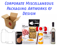 Corporate Miscellaneous Packaging +17 Artworks & Design