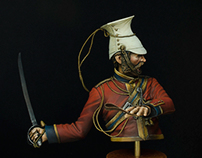 Officer, 16th Lancers, Aliwal 1846