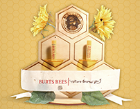 Burt's Bees Chapstick Display