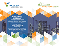 Vallen Safety Services Trade Show Booth