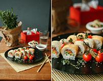 Food - Съемка меню и рекламы для ресторана Журавинка