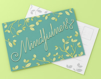 Mindfulness Postcard