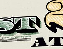 Coast 2 Coast ATMS | Identity, Brochure, Large Prints