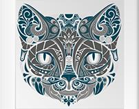 Gato | ilustração