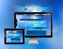 LiquidEgg - Webdesign