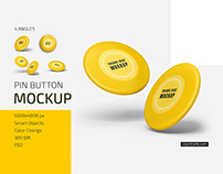 Frisbee Disc Mockup Set