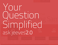 Ask Jeeves UI Re-Design