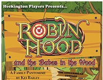 Robin Hood and the Babes in the Wood 2018 Programme -HP