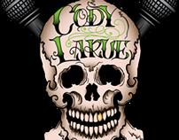 Comedian Cody LaRue Logo Design