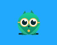 Owl Mascot Branding Concept