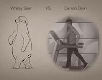 Carson Dean VS Whitey Bear