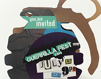 Geurrilla Fest VIP Ticket Package