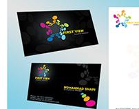 FirstView Business Card
