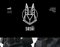 Sashi - custom designer toys