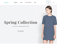 Boutik - Fashion Store PSD