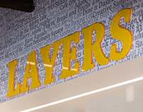 Adobe Workplace - San Jose Cafe - Layers Branding
