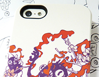 My new customized Iphone case