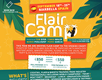 FlairCamp 2016 - Graphic Campagne