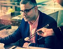 GQ Power Lunch - Atul Kochhar
