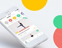 Yoga Plus App Design