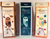 M&S Packaging Confectionary