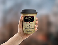 Cup Design for Coffee-Bar Meraki