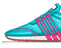 Footwear Analog Sketches Vol.1