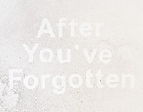 After You've Forgotten