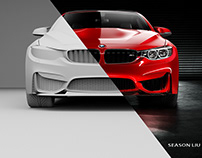 BMW M4 FULL CGI WORK