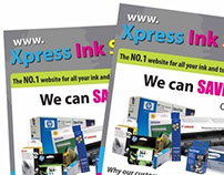 Xpress Ink Solutions - Logo Design, Stationery & Flyer