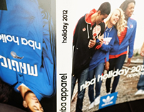 2012 NBA Apparel Retail Flipbook Catalog