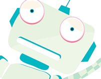 Scared Robot