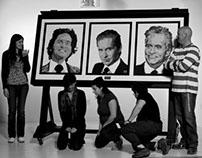 Pixel Art of Michael Douglas