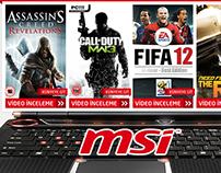 MSI GT680 Notebook - Lansman Sayfası (2011)